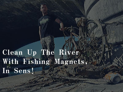 France Customer Review:Clean Up The River With Fishing Magnets, In Sens