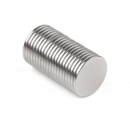 200 Pcs Disc Neodymium Magnets | Size: 12×1mm | N50 | Nickel(Ni-Cu-Ni) - MAGANETSHUB