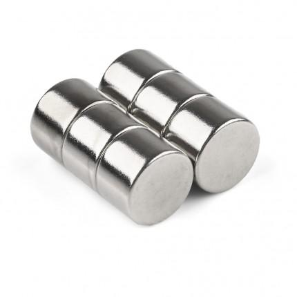 60 Pcs Disc Neodymium Magnets | Size: 12×8mm | N50 | Nickel(Ni-Cu-Ni) - MAGANETSHUB