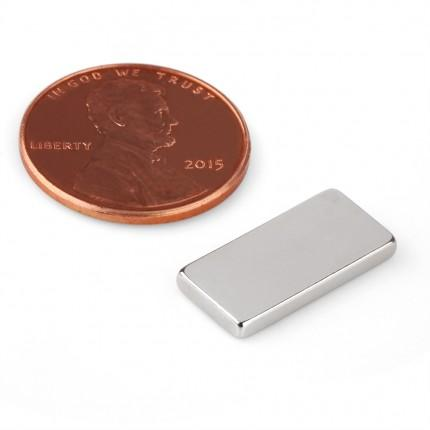 50Pcs Block Neodymium Magnets | Size: 17×8×2mm | N42 | Nickel(Ni-Cu-Ni) - MAGANETSHUB