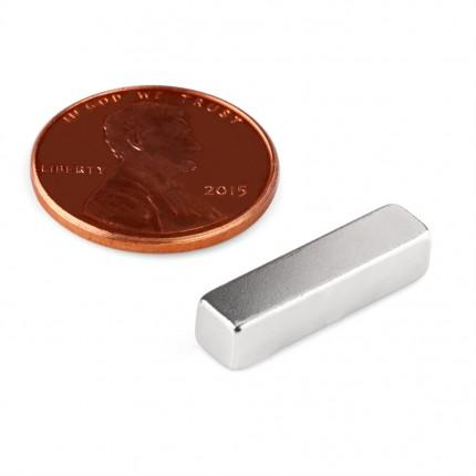 50 Pcs Block Neodymium Magnets | Size: 20×5×5mm | N50 | Nickel(Ni-Cu-Ni) - MAGANETSHUB