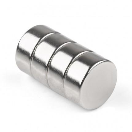 40 Pcs Disc Neodymium Magnets | Size: 20×10mm | N50 | Nickel(Ni-Cu-Ni) - MAGANETSHUB