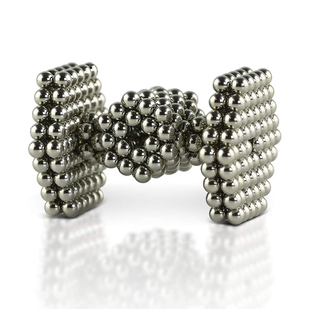 216 Pcs Sphere Neodymium Magnetic balls | Size: OD=3mm | N35| Nickel(Ni-Cu-Ni)| Color: Nickel - MAGANETSHUB