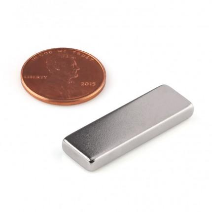 50 Pcs Block Neodymium Magnets | Size: 30×10×4mm | N50 | Nickel(Ni-Cu-Ni) - MAGANETSHUB