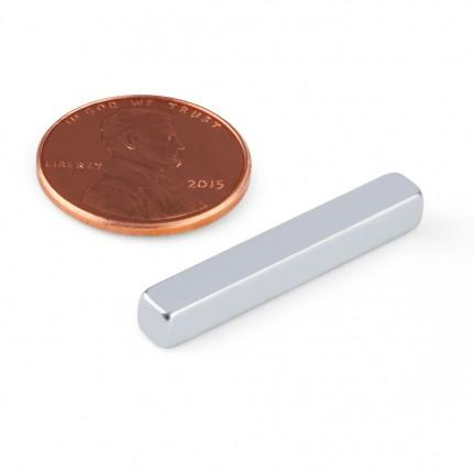 100 Pcs Block Neodymium Magnets | Size: 30×4.2×4.2mm | N35 | ZN - 3.298kg pull - MAGANETSHUB