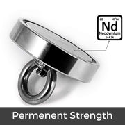 N52 Strong Fishing Neodymium Magnets 81.3mm| Pull Force :300KG - MAGANETSHUB