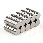 250 Pcs Disc Neodymium Magnets | Size: 4×2mm | N35 | Nickel(Ni-Cu-Ni) - MAGANETSHUB