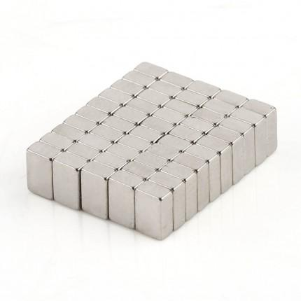 500 Pcs Block Neodymium Magnets | Size: 4×2.5×1.5mm | N35 | Nickel(Ni-Cu-Ni) - MAGANETSHUB