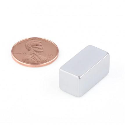 500 Pcs Block Neodymium Magnets | Size: 20×10×10mm | N45 | ZN - 9.811kg pull - MAGANETSHUB