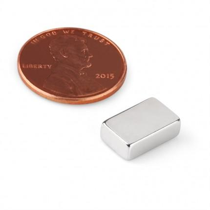 50 Pcs Block Neodymium Magnets | Size: 12×7.5×4mm | N48 | Nickel(Ni-Cu-Ni) - MAGANETSHUB