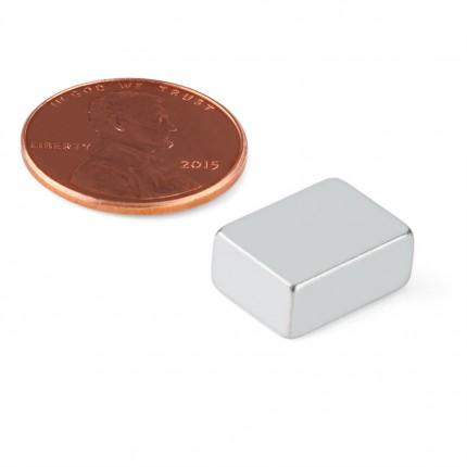 500 Pcs Block Neodymium Magnets | Size: 13.5×10×6mm | N48 | ZN - 5.756kg pull - MAGANETSHUB