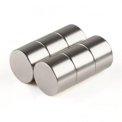 60 Pcs Disc Neodymium Magnets | Size: 14×10mm | N50 | Nickel(Ni-Cu-Ni) - MAGANETSHUB