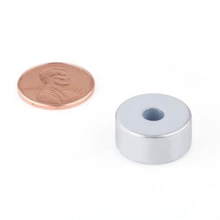 500 Pcs Ring Neodymium Magnets | Size: 18mm(OD) x 5mm(ID)x 8.3mm | N50 |ZN - 10.65kg pull - MAGANETSHUB