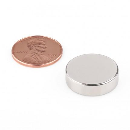 50 Pcs Disc Neodymium Magnets | Size: 19×5.5mm | N50 | Nickel(Ni-Cu-Ni) - MAGANETSHUB