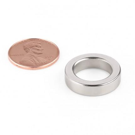 50 Pcs Ring Neodymium Magnets | Size: 20mm(OD) x 13mm(ID)x 5mm | N50 | Nickel(Ni-Cu-Ni) - MAGANETSHUB