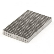 500 Pcs Block Neodymium Magnets | Size: 2×2×2mm | N50 | Nickel(Ni-Cu-Ni) - MAGANETSHUB