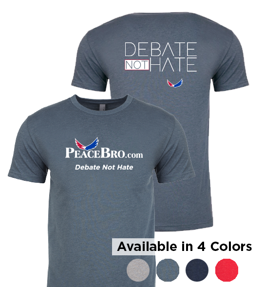 Debate NOT Hate T-Shirt