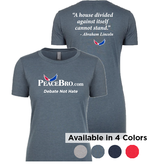 Women's Lincoln A House Divided T-Shirt