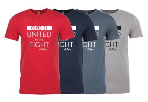 United in the Fight T Shirt