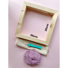 Load image into Gallery viewer, Punch Needle Wooden Frames - Supplies