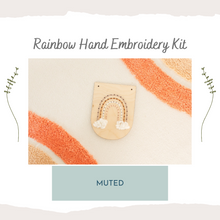 Load image into Gallery viewer, Rainbow Beginner Embroidery Kit - Beginner 🌈