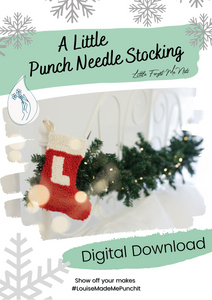Little Stocking Digital Download - Christmas