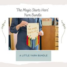 Load image into Gallery viewer, Yarn Bundle - Magic Starts Here - Beginner Embroidery