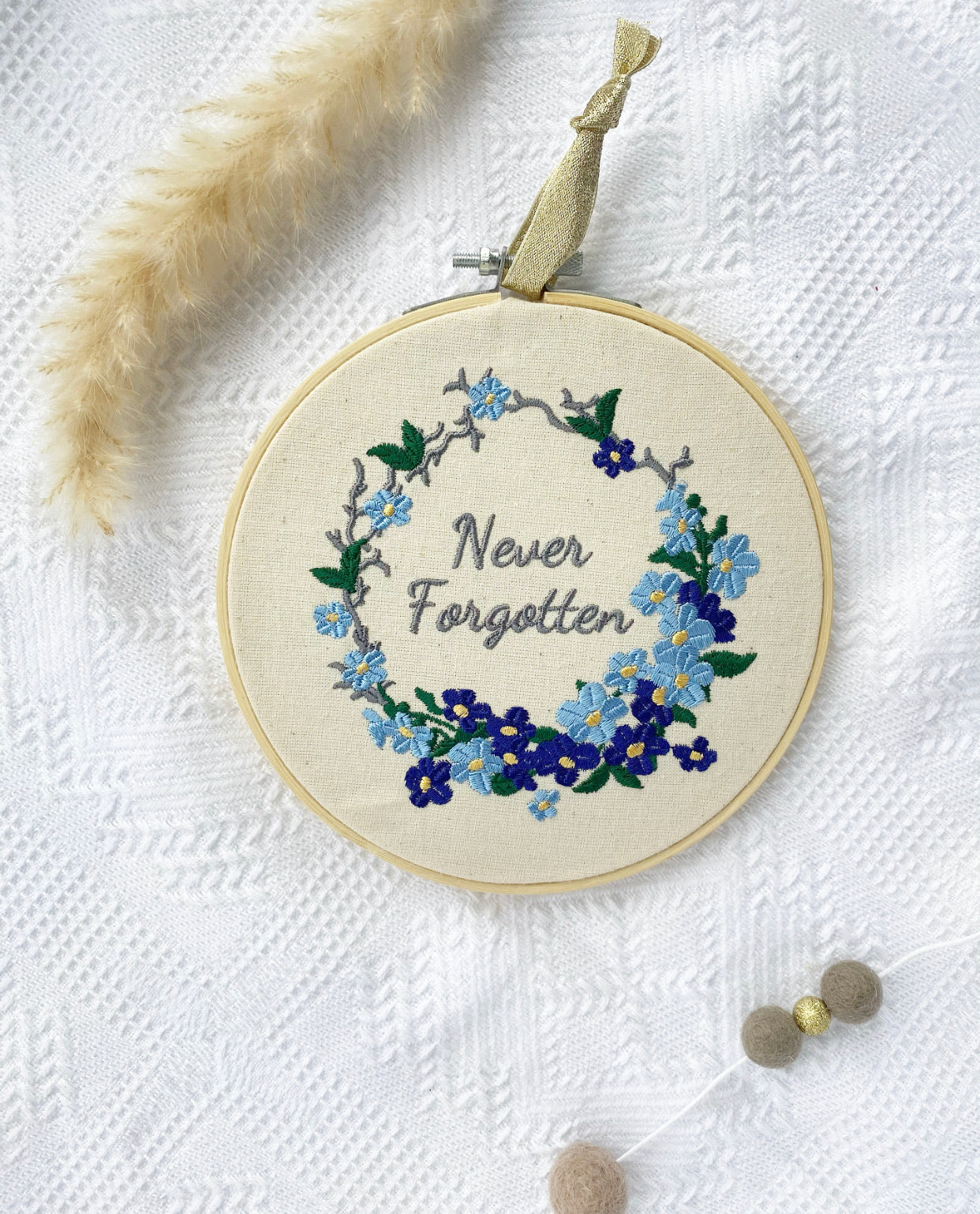 "LFMN Never Forgotten 6"" - Embroidery Hoop"