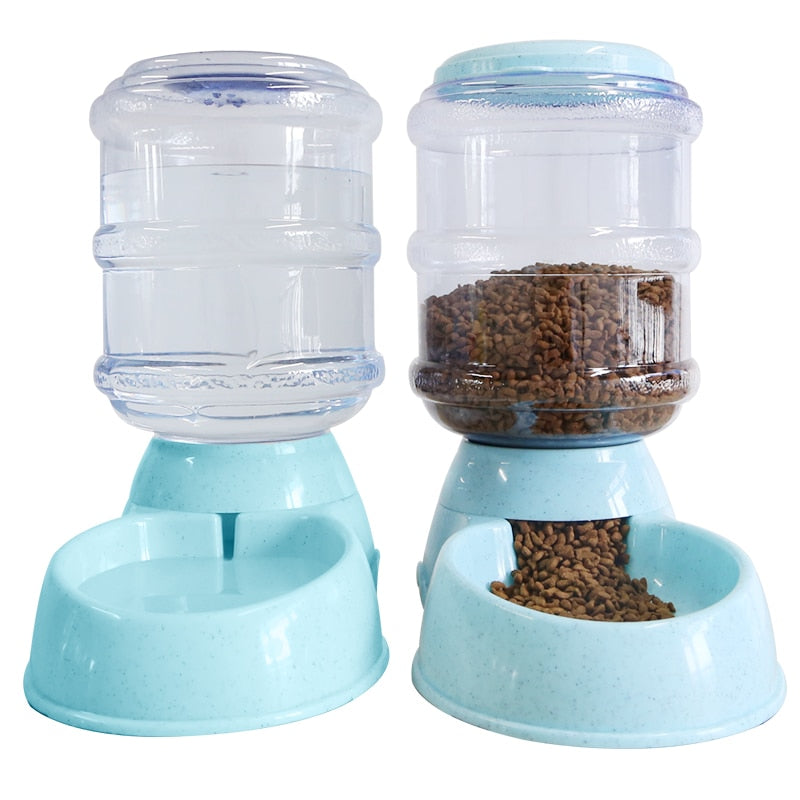 Water Dispenser Dog Feeder Automatic