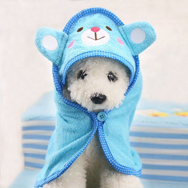 Cute Soft Drying Bath Pet Towel
