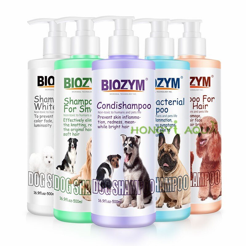 Dog shower gel