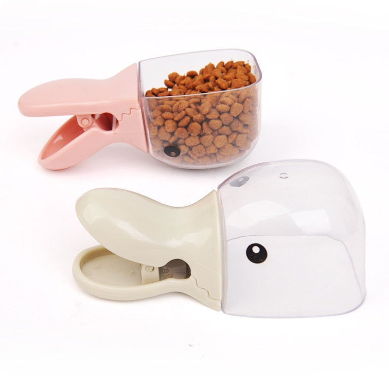 Cute Pet Food Spoon Measuring Cup