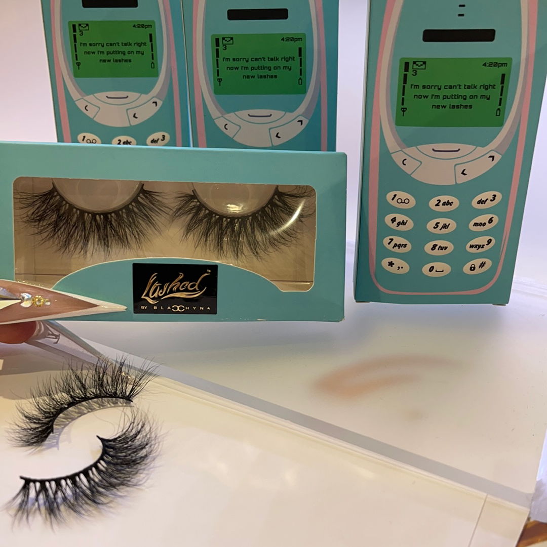 """Sugar Daddy"" Mink eyelashes"
