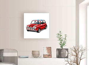 contemporary mini cooper lifestyle canvas modern 64cm square 1s277m for your study