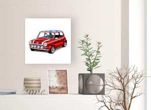 contemporary mini cooper lifestyle canvas modern 49cm square 1s277s for your boys bedroom