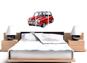 oversized mini cooper lifestyle canvas multi triptych 3277 for your study