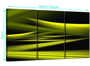 3 Panel Modern Canvas Pictures 125cm x 60cm 3047