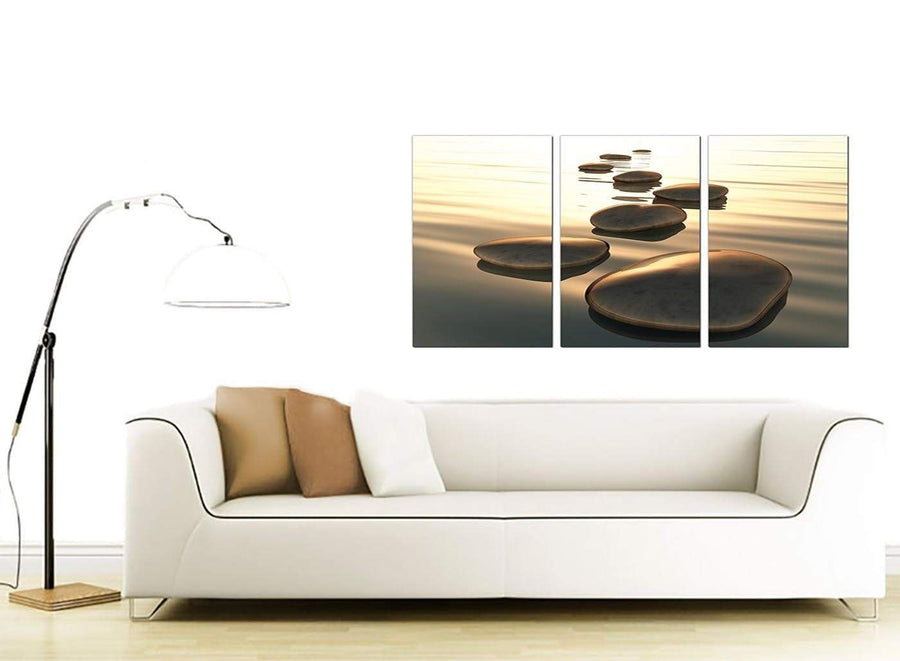 3 Panel Contemporary Canvas Wall Art 125cm x 60cm 3046