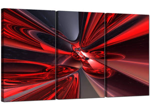 Set of 3 Modern Canvas Prints UK Abstract 3006