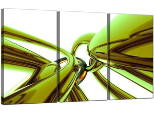 Three Panel Contemporary Canvas Wall Art Abstract 3035