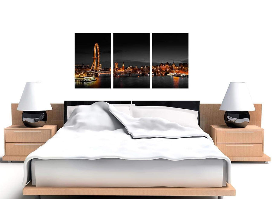 Set of 3 River Thames Canvas Prints
