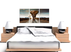 African Elephant - Modern Landscape Canvas