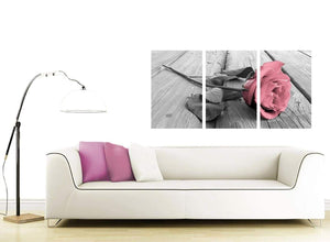 3 panel flower canvas wall art living room 3271