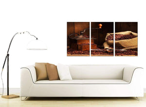 3 Panel Food & Drink Canvas Wall Art 125cm x 60cm 3062