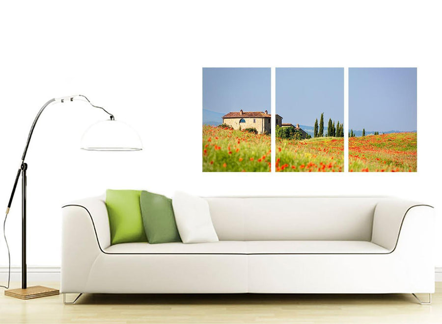 3 panel landscape canvas wall art living room 3233