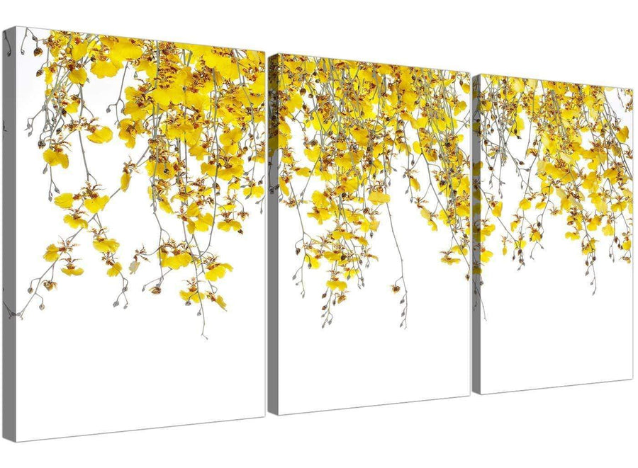 3 panel orchids canvas pictures living room 3263