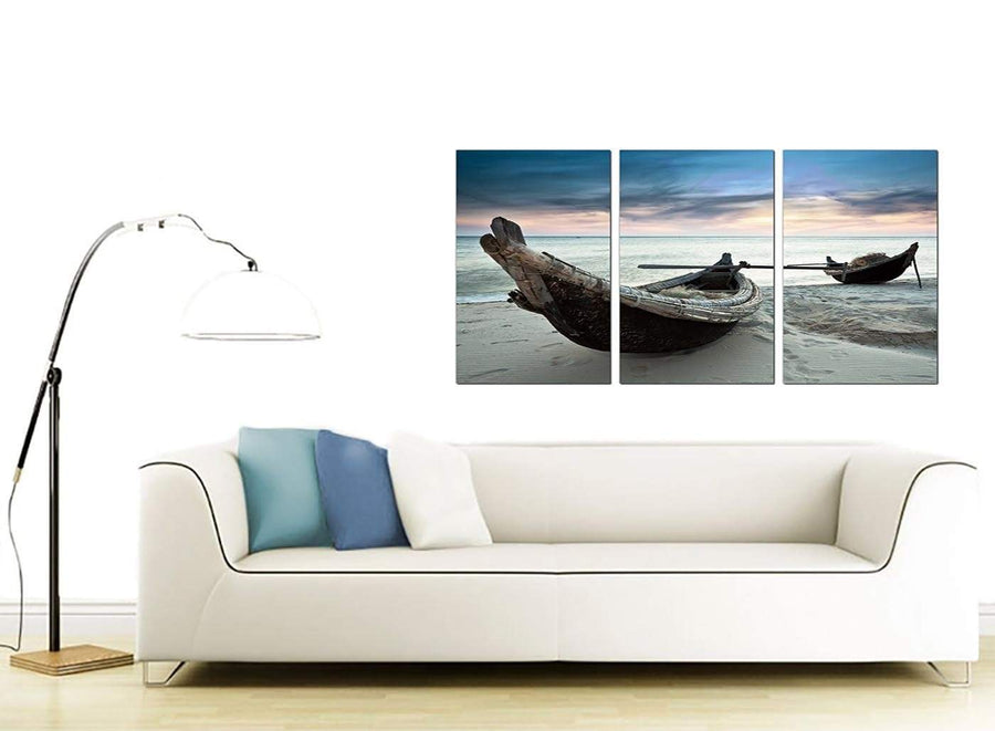 3 Panel Sea Canvas Prints 125cm x 60cm 3107