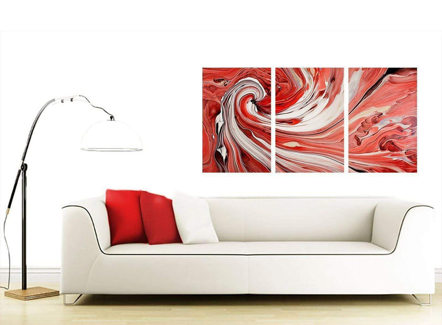 3 part abstract canvas prints uk living room 3265