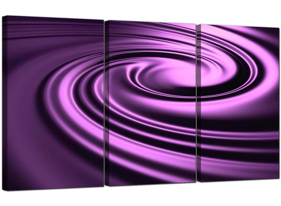 Set of 3 Abstract Canvas Wall Art Abstract 3058