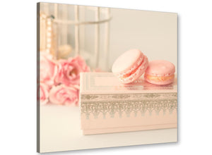 cheap pink cream french shabby chic bedroom abstract canvas modern 64cm square 1s284m for your study